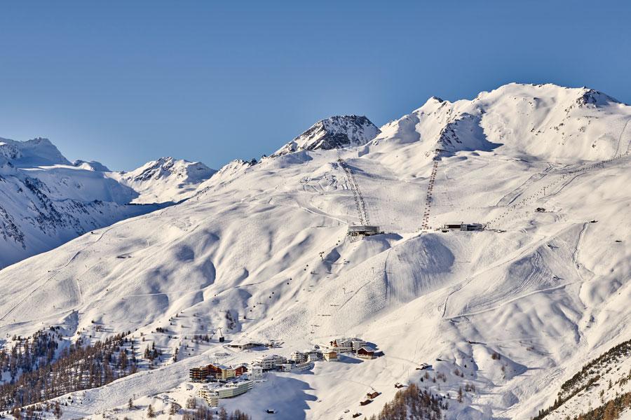 Winterskigebiet Sölden